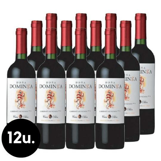 Caja 12x Vino Doña Dominga Varietal Variedades 750cc