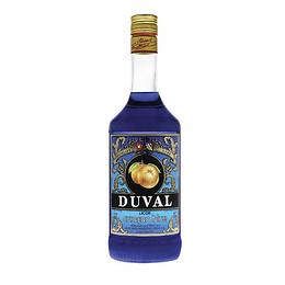 Licor Curacao Blue Duval 750cc