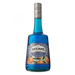 Licor Curacao Blue Mitjans 750cc