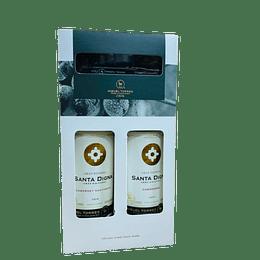 Pack 2x Vino Santa Digna Gran Reserva 750cc + Descorchador