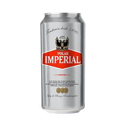 24x Cerveza Polar Imperial 4,6° Lata 470cc