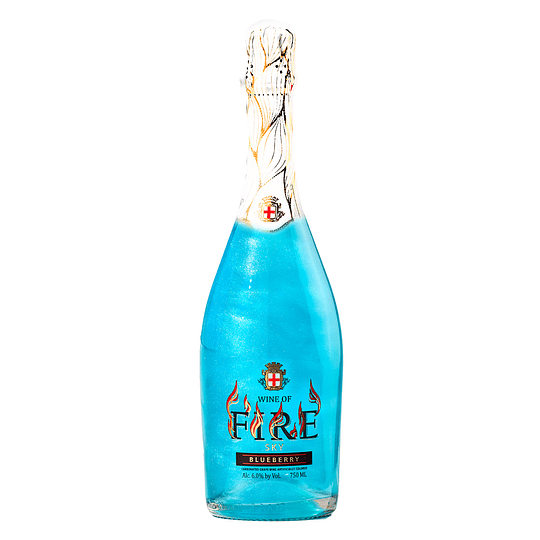 Espumante Wine Of Fire Con Brillo 6° Variedades 750cc