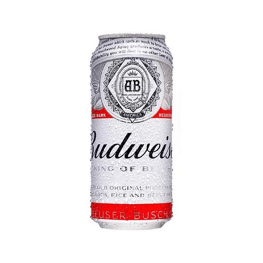 24x Cerveza Budweiser 5,0° Lata 473cc
