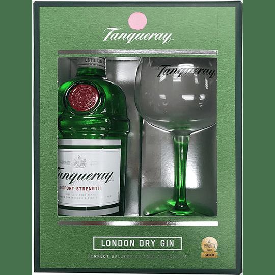 Gin Tanqueray 750cc + Copa