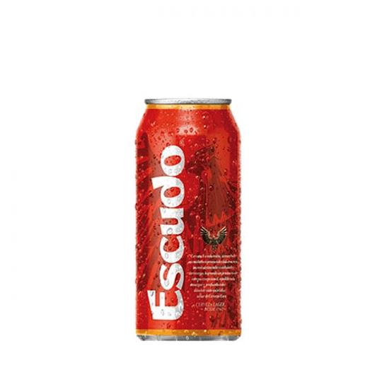 24x Cerveza Escudo Lager 5,5° Lata 473cc