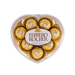 Bombones Ferrero Rocher Corazón 100gr