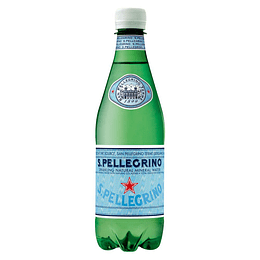 Agua Mineral San Pellegrino Gasificada 500cc