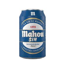 24x Cerveza Mahou Sin Alcohol Lata 330cc