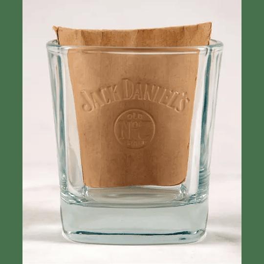 Vaso de Whisky Jack Daniels Grabado