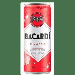 Ron Cola Bacardi 5° Lata 330cc