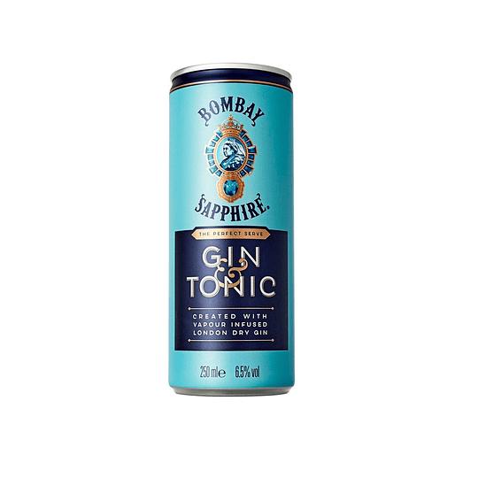 Gin Tonic Bombay 6.5° Lata 250cc