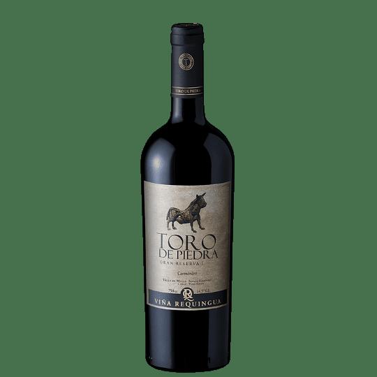 Vino Toro de Piedra Carmenere Gran Reserva 750cc