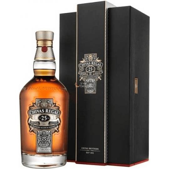 Whisky Chivas Regal 25 años 40° 700cc
