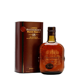 Whisky Buchanans Special Reserve 18 años 40° 750cc