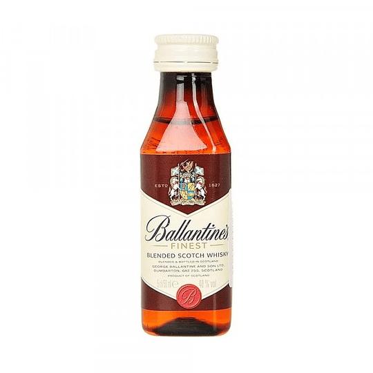 Pack 12x Whisky Ballantine´s Miniatura 50cc