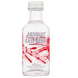 Pack 12x Vodka Absolut Raspberri 40° Miniatura 50cc