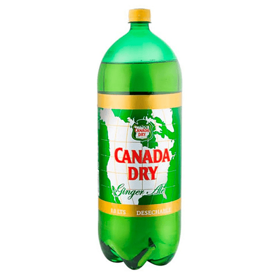 Canada Dry Ginger Ale Desechable 3,0L