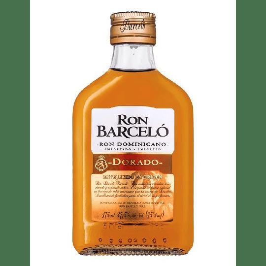 Ron Barceló Dorado 37,5° Petaca 175cc