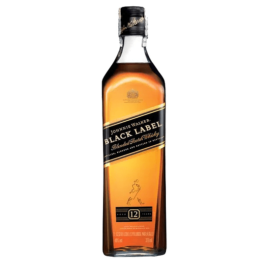 Whisky Johnnie Walker Black Label 40° 350cc