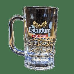 Vaso Cervecero Escudo Vidrio 350cc