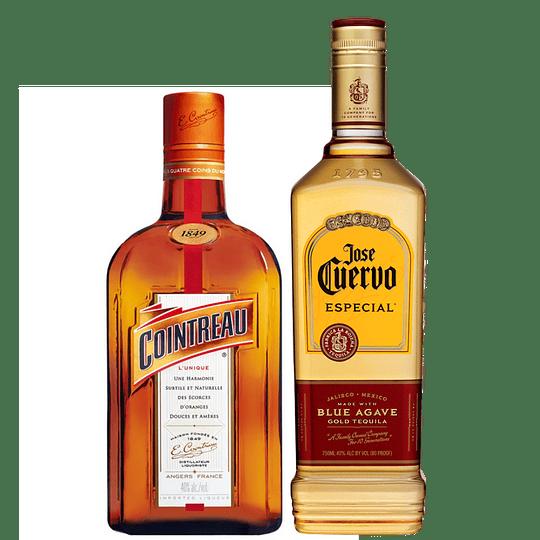 Pack Margarita Premium: Tequila José Cuervo Reposado Especial 750cc + Licor de Naranja Cointreau 700cc