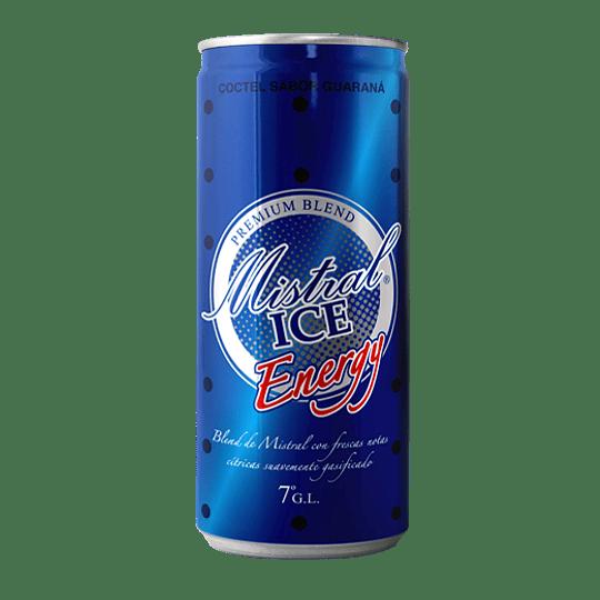 12x Cóctel Mistral Ice Energy 7° Lata 310cc