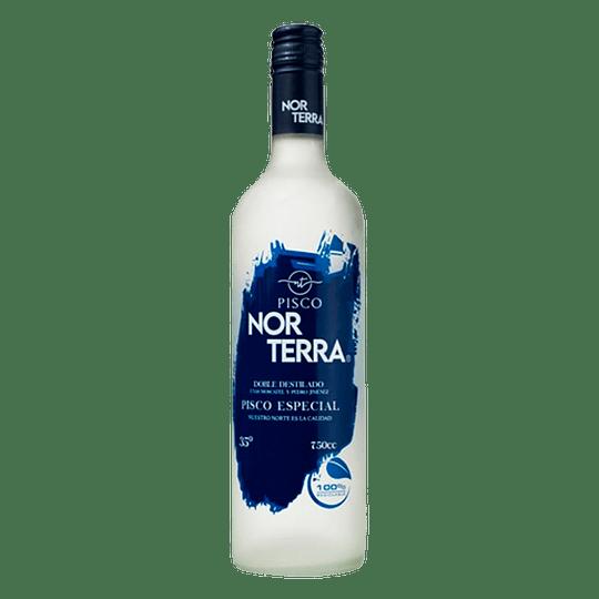 Pisco Norterra Doble Destilado Transparente 35° 750cc