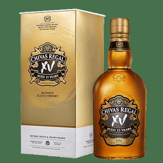 Whisky Chivas Regal XV 15 Años con Estuche 750cc