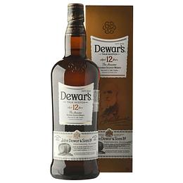 Whisky Dewar´s 12 Años 750cc