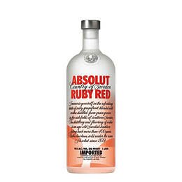 Vodka Absolut Ruby Red 750cc