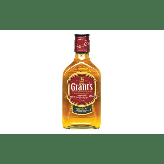Whisky Grants Petaca 200cc