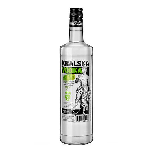 Vodka Kralska Apple 1 Litro