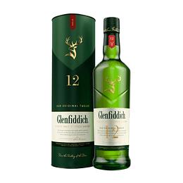 Whisky Single Malt Glenfiddich 12 Años 40° 750cc