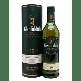 Whisky Single Malt Glenfiddich 12 Años 40° 350cc