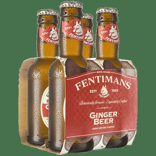 Pack 4x Fentimans Ginger Beer 200cc