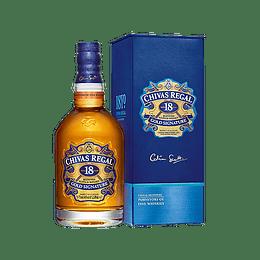 Whisky Chivas Regal 18 Años con Estuche 1 Litro