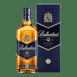 Whisky Ballantines 12 Años 750cc