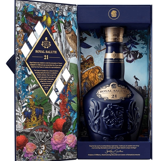 Whisky Royal Salute 21 años The Ultimate Tribute 40° 700cc