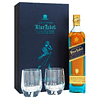 Whisky Johnnie Walker Blue Label 750cc Edición Limitada + 2 Vasos