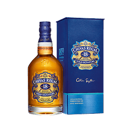 Whisky Chivas Regal 18 Años con Estuche 750cc
