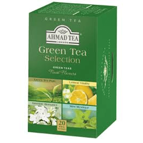 Teabag Ahmad Green Selection