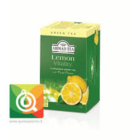 Teabag Ahmad Lemon Green