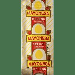 Mayonesa Sachet 8 ml. Relkon