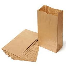 Saco de papel Kraft 1 kg.