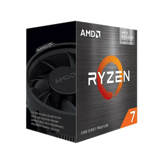 Pc Armado   Amd Ryzen 7 5700G RADEON + A520 + 16GB DDR4 + SSD 480GB