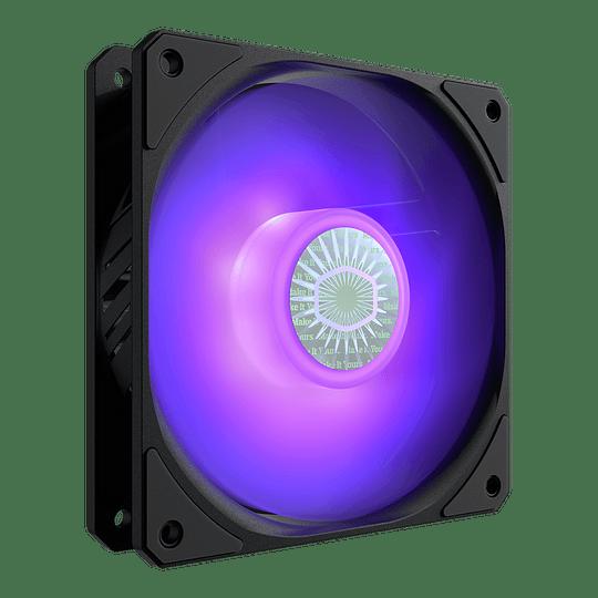 Ventilador Cooler Master Sickleflow 120 Rgb Pc Fan 1800 Rpm