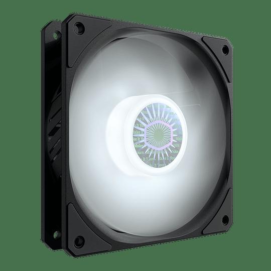 Ventilador Cooler Master Sickleflow 120 Pc Led Fan 1800 Rpm - Blanco