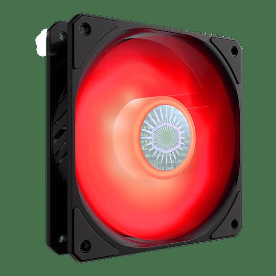 Ventilador Cooler Master Sickleflow 120 Pc Led Fan 1800 Rpm - Rojo