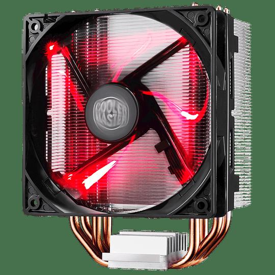 Ventilador Cpu Cooler Master Hyper 212 Led Air 120mm / Intel - AMD