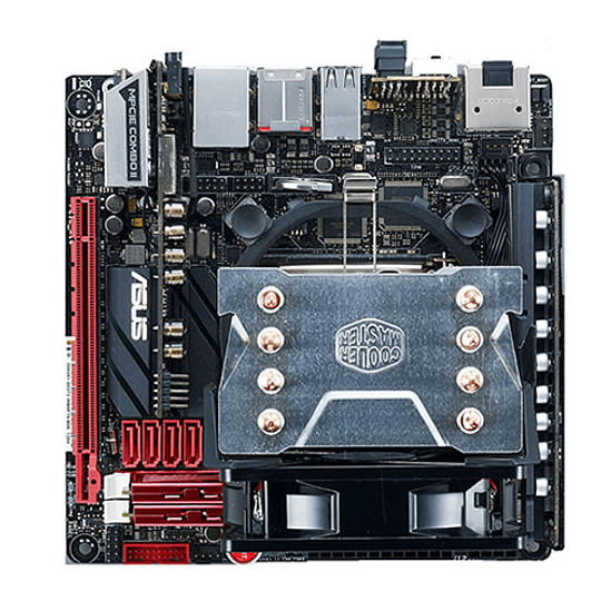 Ventilador Cpu Cooler Master Hyper H410R - Led RED / Intel - AMD